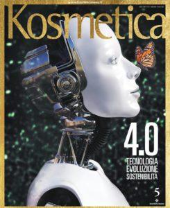 Una delle copertine della rivista Kosmetica